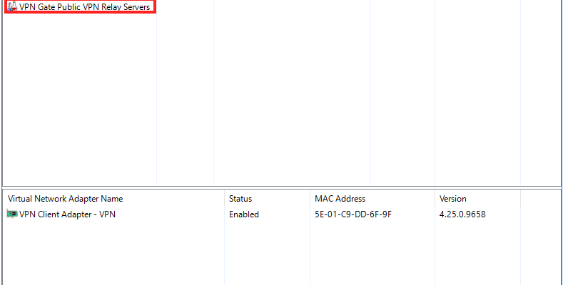 English] Connect Minefs Server with fake IP VPN